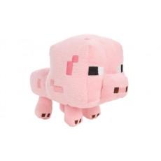 Розовая свинка 16 см